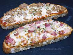 Te apetece comer pizza y no tienes masa o no tienes tiempo de prepararla! puedes hacerla en una tostada, se hace rapidísimo y quedan muy ricas!! No te pongo ingredientes,…