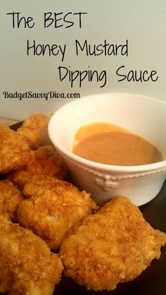 This dipping sauce will rock your socks! Plus it is gluten - free Very simple 2 ingredient dipping sauce Dip Recipes, Sauce Recipes, Cooking Recipes, Cooking Tips, Pesto, Do It Yourself Food, Paleo Sauces, Honey Mustard Sauce, Homemade Sauce