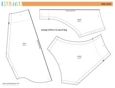 dog coat pattern