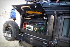 98 Best clever storage land rover images in 2019 | Campers, Campsite