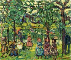 Maurice Prendergast - Children in the Park