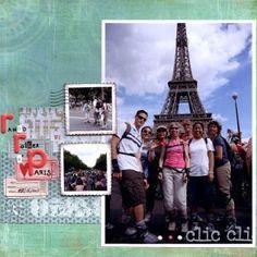 Rando Roller à Paris scrapbooking