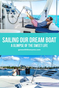 Making an offer on a cruising catamaran and learning the ropes from the owner!
