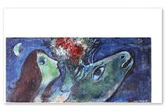 One Kings Lane - Rare Posters - Chagall, Woman with Green Donkey