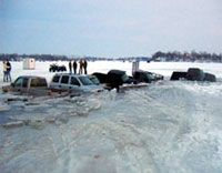 cars in ice Ice Fishing, Car Ins, Boat, Dinghy, Boats, Ship