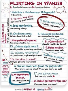 flirting quotes in spanish translation online english dub