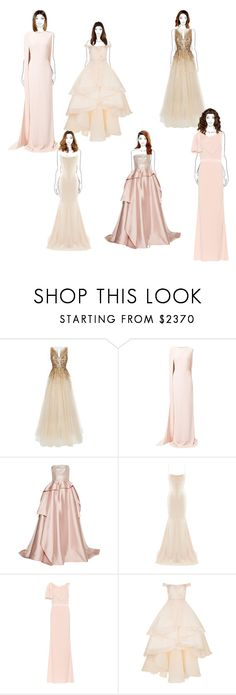 """Untitled #4347"" by mixernation00 ❤ liked on Polyvore featuring Jenny Packham, STELLA McCARTNEY, Reem Acra, Alex Perry, Alexander McQueen and Mikael D"
