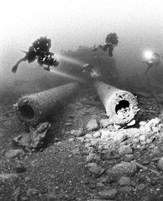 Wreck of HMS Audacious.
