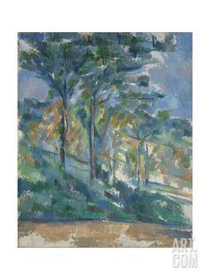 Paul Cezanne Premium Thick-Wrap Canvas Wall Art Print entitled Landscape, None Paul Cezanne, Cezanne Art, Claude Monet, Landscape Art, Landscape Paintings, Landscapes, Post Impressionism, Art Uk, Henri Matisse