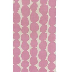 Textila Rug – love the pink pebble design of this rug! Perfect in a baby girl nursery!