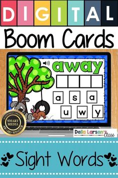 Boom Cards Build A Sight Word - We Love Dogs Distance Learning Literacy Stations, Literacy Skills, Kindergarten Readiness, Kindergarten Classroom, Literacy Centers, Writing Centers, Classroom Ideas, Teaching Sight Words, Teaching The Alphabet
