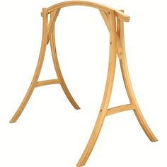 Roman Arch Wooden Hammock Chair Stand