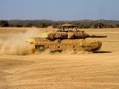 Danish Leopard 2A5DK with Barracuda mobile multi-spectral camouflage system