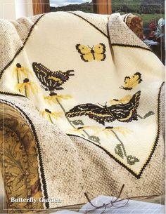 Herrschner's Cross-stich crochet afghans 2007 Winners