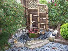 Giardino zen - Giardino zen, fontana