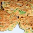 Okra Patties- these were pretty good...a little tricky getting the consistency down, but once i did they were good!