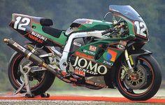 Suzuki GSX-R klassieke race motorfiets