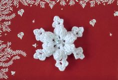 Crochet Snow flakes-01, via Etsy.