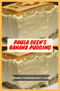 Paula Deen's Banana Pudding – One Of Recipe Sweetened Whipped Cream, Whipped Topping, Chicken Fillet Recipes, Blondie Dessert, Banana Pudding Recipes, Cream Pie Recipes, Bread Puddings, Electric Mixer