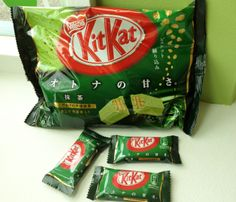 They're back! Come in and get your Matcha Kit Kats today. When they're gone, they're gone.