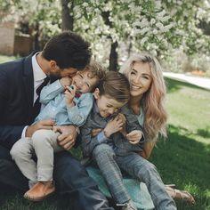 Elegant family photo