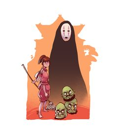 ArtStation - Ghibli Characters, Desar Yuartha Spirited away