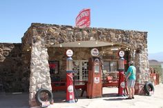 desert gas stations | Route 66: Arizona to California | Linked Music