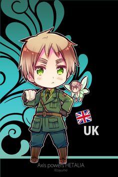 Chibi England - Arthur Kirkland