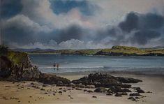 Paul Holmes, Antrim, Ireland Antrim Ireland, Irish Art, Art Gallery, Waves, Artists, Painting, Outdoor, Outdoors, Art Museum