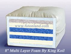 Coconut Coir Organic Mattress Chemical Free The Futon 床垫 Pinterest And