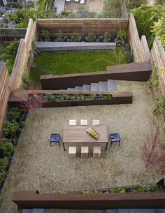 Nice terraced back yard. Private too, for what looks like a pretty dense area. In San Francisco. By SurfaceDesign