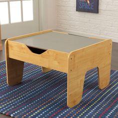 KID-17506 Activity Play Table - Gray & Natural