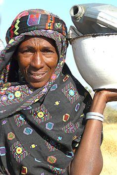 Africa | Fulani woman. West Nuba Mountains, Sudan | © Rita Willaert