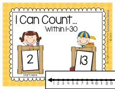 This freebie is a great activity to use in small groups or as an independent center.  Students take turns drawing a number to start counting from and another card to count to.  Students can practice counting forward or backwards.  A number line and number chart are provided for students who need a visual.  There is also a recording sheet for students to practice writing their numbers.    Thanks for downloading this freebie!    Angelia