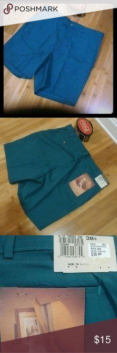 Hagar Men's Shorts * NEW Brand New Hagar men's shorts, Hunter Green, Never Worn Hager Shorts