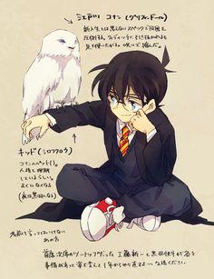 Conan at Hogwarts --Detective Conan--