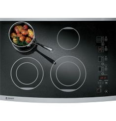 "ZEU30RSFSS - 30"" Digital Electric Cooktop - The GE Monogram Collection ($1,699)"