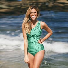 Icon Swimsuit, Emerald - Albion - 1