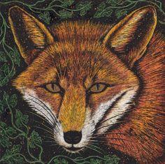 Gilded Fox by ~Vikkki on deviantART