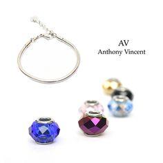 Arma tu propio brazalete. En Anthony Vincent contamos con innumerables opciones.