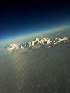 Awesome atmospheric shot of Denali (Mt. McKinley)