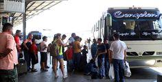 Honduras: Tegucigalpa y Copán, los destinos con mayor demanda de pasajeros en la terminal Muchas empresas esperan que hoy también sea un día de mucho movimiento de viajeros. Se prevé que un millón de personas circulen por la terminal durante el feriado. Foto: Yoseph Amaya