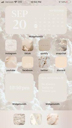 Iphone Wallpaper Ios, Iphone Wallpaper Tumblr Aesthetic, Ios Wallpapers, Iphone Home Screen Layout, Iphone App Layout, Iphone Design, Telefon Hacks, Application Iphone, Ios Update