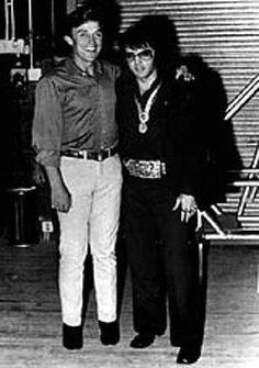 Elvis und der US Country Sänger Jimmy Dean
