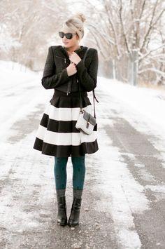 dressy winter look