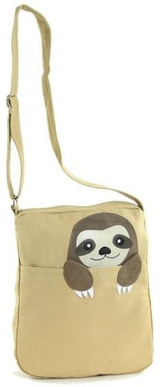 Cute Sloth Bag More - bags on sale online, black leather bag sale, beach bag *ad Sloth Shirt, Cute Sloth, Black Leather Bags, Baby Animals, Baby Giraffes, Wild Animals, Best Friend Gifts, Spirit Animal, Bag Sale