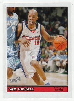 Sam Cassell # 27 - 2005-06 Topps Baz Basketball