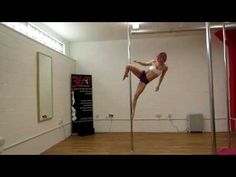 Robyn Rooke - Pole Dancing Combos - YouTube