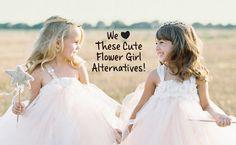 #TheKnot .....    http://blog.theknot.com/2014/09/10/flower-girl-petal-toss-alternatives/?cm_mmc=facebook-_-sep2014-_-blog-_-flowergirlalternatives