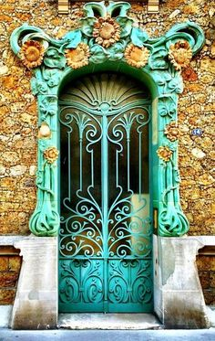 Photos Blend of Architecture with Art Nouveau. At this time it was a revolutionary movement where there was a strict barrier between pure art and art. Art Nouveau focuses more on the concept of und…